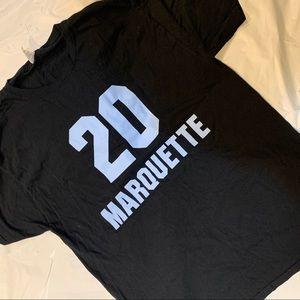 """Marquette Warriors (Golden Eagles) Tshirt """"20"""""""